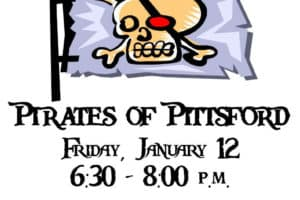 Family Fun Night #1 out of 3-Pirates of Pittsford!!!