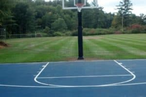 Tennis & Basketball Courts